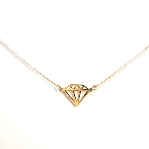 Diamond Silhouette Necklace