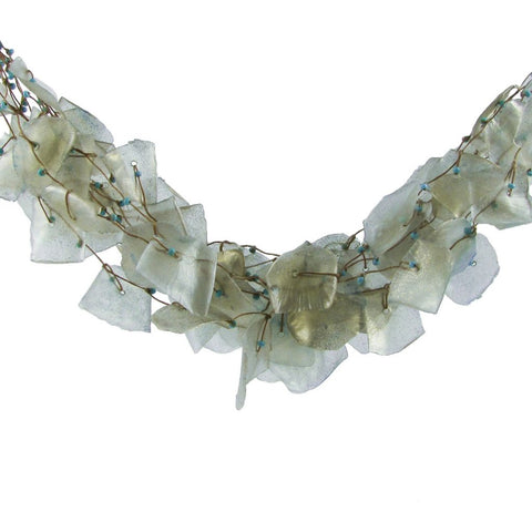 Fish Scales Necklace - Frost