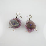 Fish Scales Earrings - Mauve