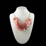 Fish Scales Necklace - Rose
