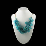 Fish Scales Necklace - Turquoise