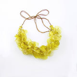 Fish Scales Necklace - Yellow