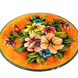 Colorful Flowers Decorative Plate