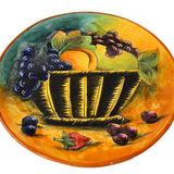 Fruits in a Basket Decorative Plate