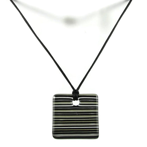 LGAN Glass Pendant - Black