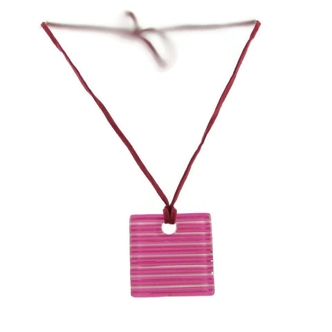 LGAN Glass Pendant - Cherry