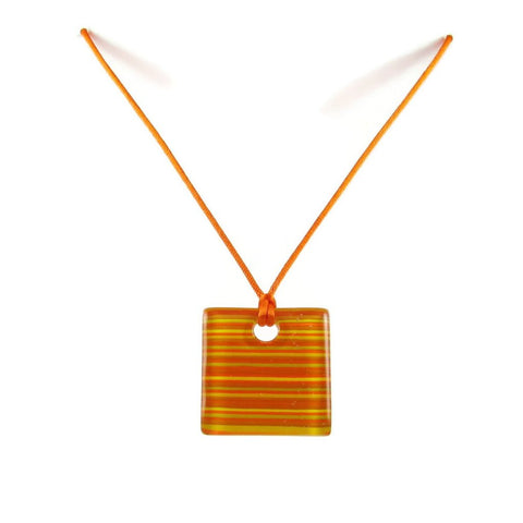 LGAN Glass Pendant - Orange