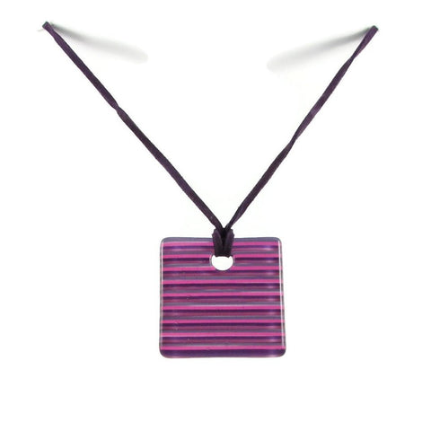 LGAN Glass Pendant - Purple