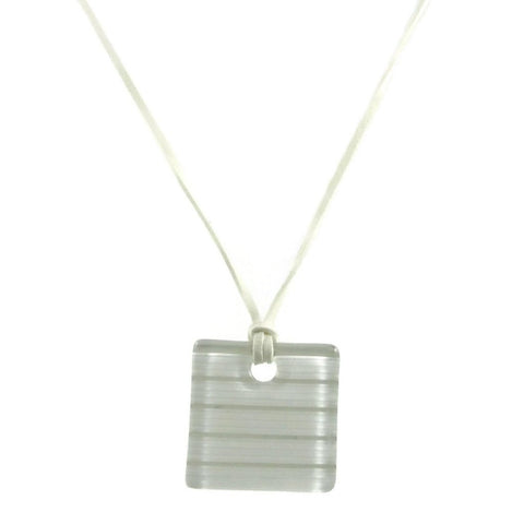 LGAN Glass Pendant - White