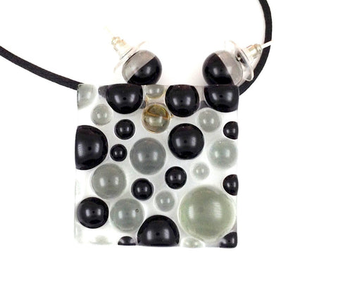 Bubbles Pendant - Black
