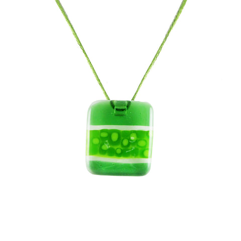 """Murano"" Glass Pendant - Green"