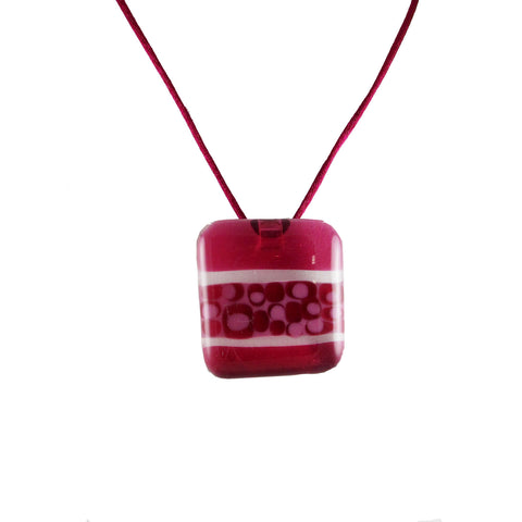 """Murano"" Glass Pendant - Cherry"