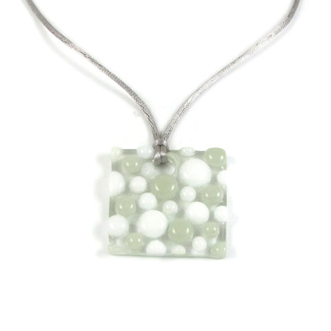 Bubbles Pendant - White