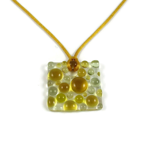 Bubbles Pendant - Yellow