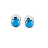 Glass Ball Studs - Red