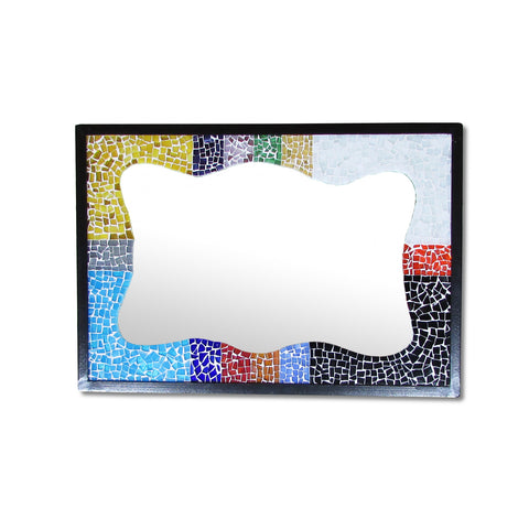 Colorful Mosaic Mirror
