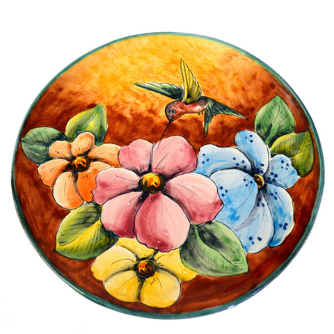Hummingbird Decorative Plate