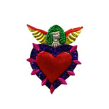 "Angel ""Miracles"" Heart - 3 Colors Available"