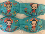 Reusable Embroidered FaceMasks - Frida