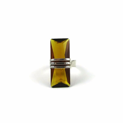 Baguette Cocktail Ring