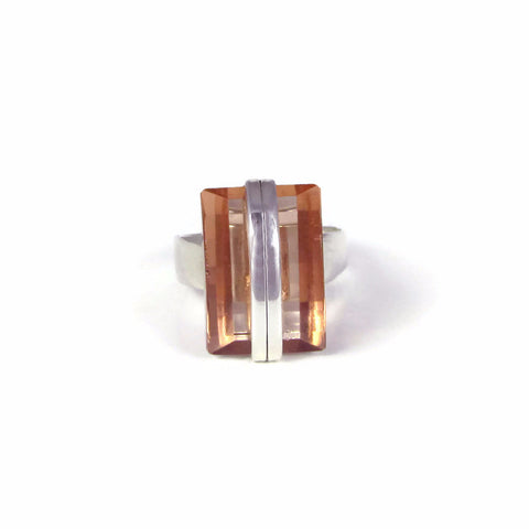 Rectangular Cocktail Ring