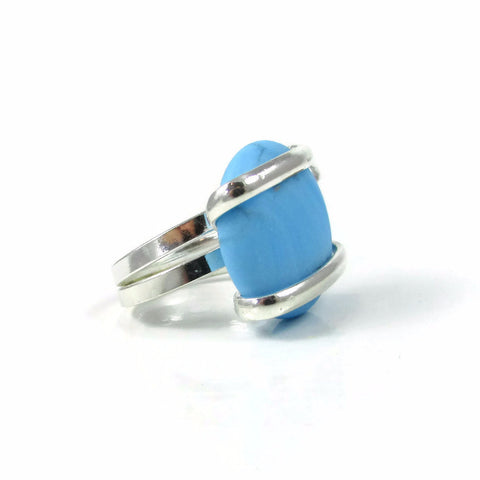 Parallel Ring - Turquoise Matte