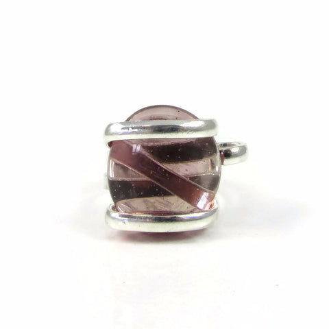 Parallel Ring - Amethyst