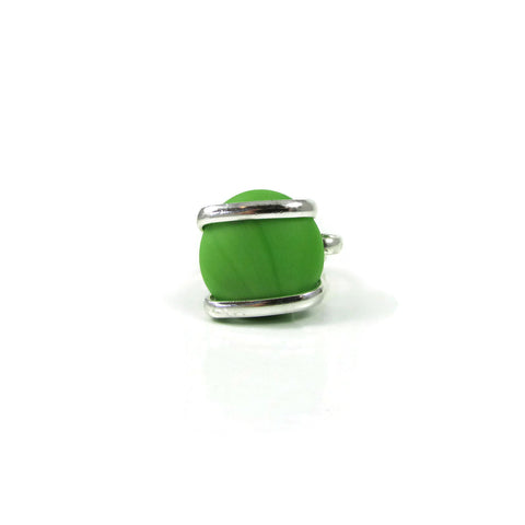 Parallel Ring - Green Matte