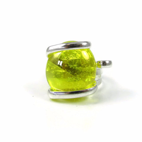 Parallel Ring - Yellow Crystal