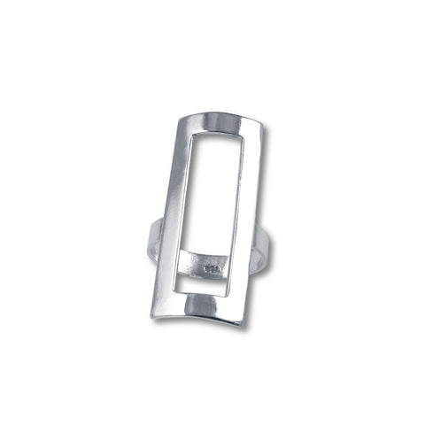 Rectangle Cool Ring - Extra Large