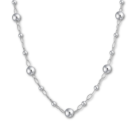 Ball Beads Long Necklace
