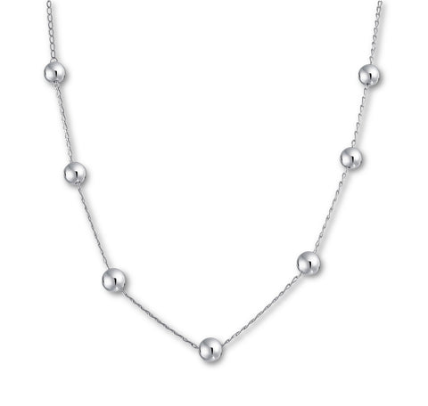 Ball Chain Short Necklace