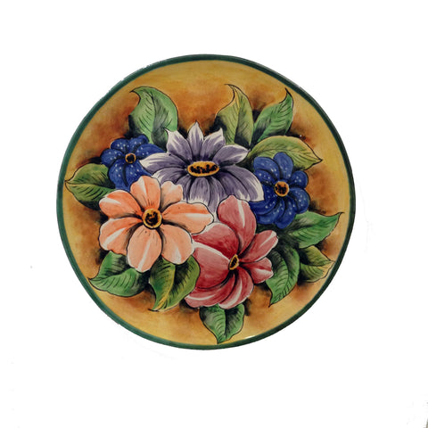 Spring Flowers Decorative Plate