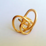 Rope bronze ring side