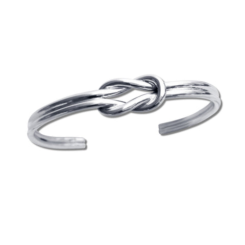 Double Infinity Knot Cuff - Thick
