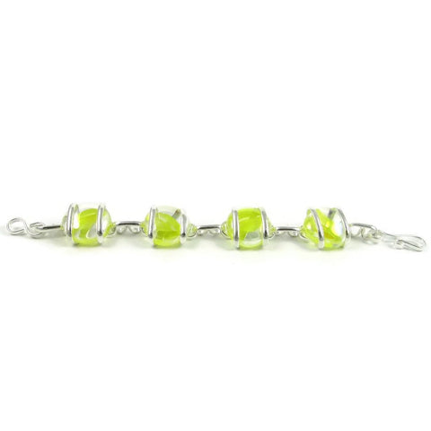 Parallel Bracelet - Yellow Stripe