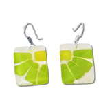 LAMA Glass Earrings - Green