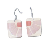 LAMA Glass Earrings - Red