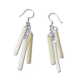LTRAC Glass Earrings - Navy