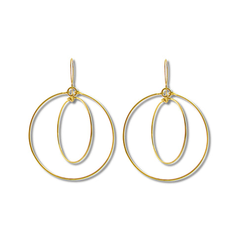 Circles Light Earrings