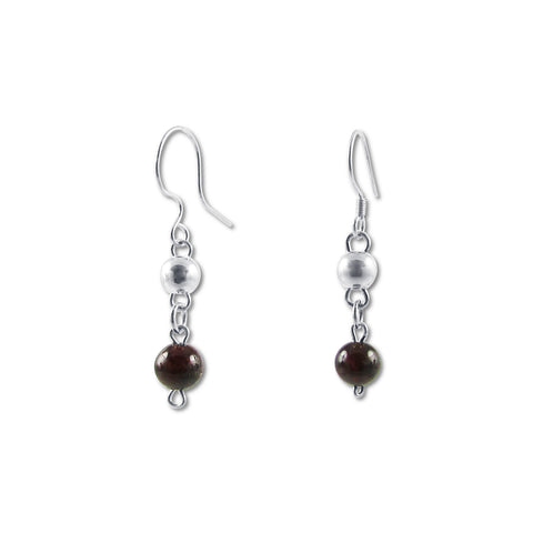 Bolitas Earrings - Agate