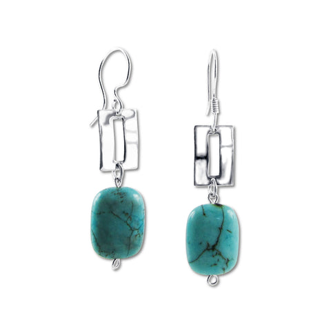 Zora Earrings - Turquoise