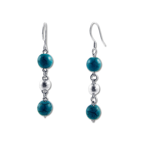 Bolitas Earrings - Turquoise