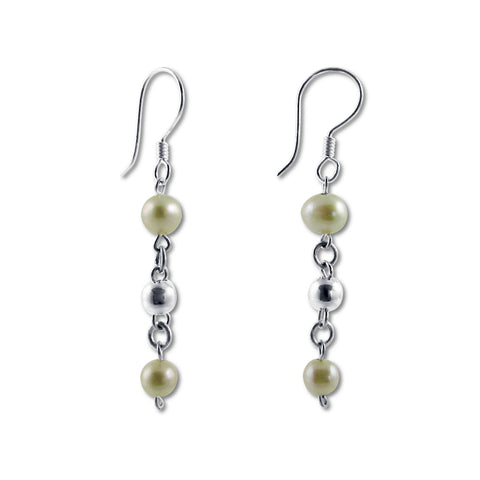 Bolitas Earrings - Pearl