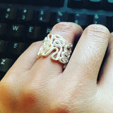 Curvy Wire Ring