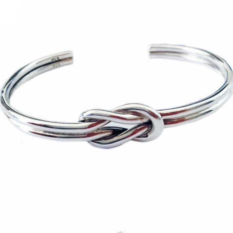Double Infinity Knot Cuff