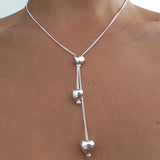 Heart Lariat Necklace