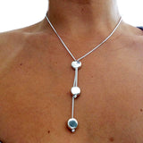 Disc Lariat Set