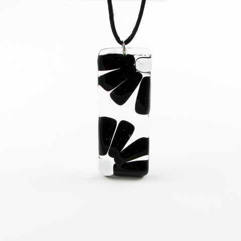 LAMA Glass Pendant - Black