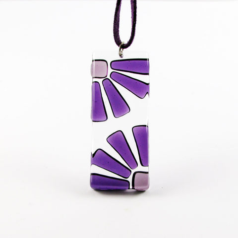 LAMA Glass Pendant - Purple